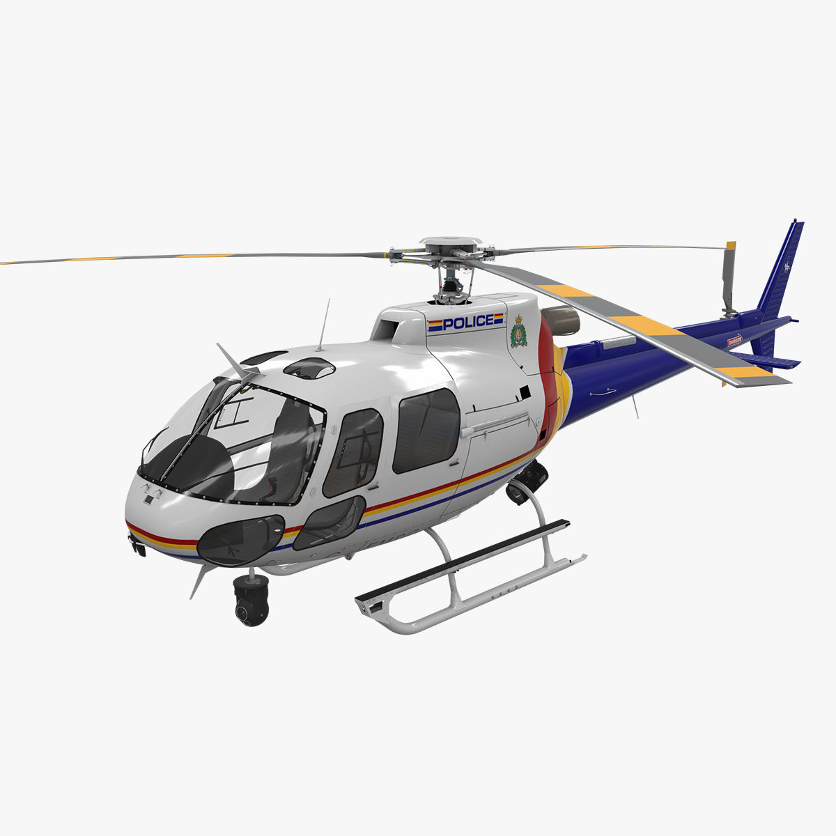 3d Asset As 350 Royal Canadian Mounted Police