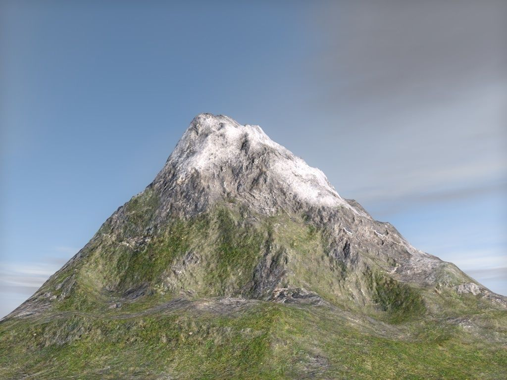 terrain mountain 3d | cgtrader