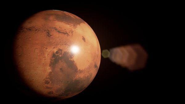 Planet Mars 8k 3D Model OBJ BLEND | CGTrader.com