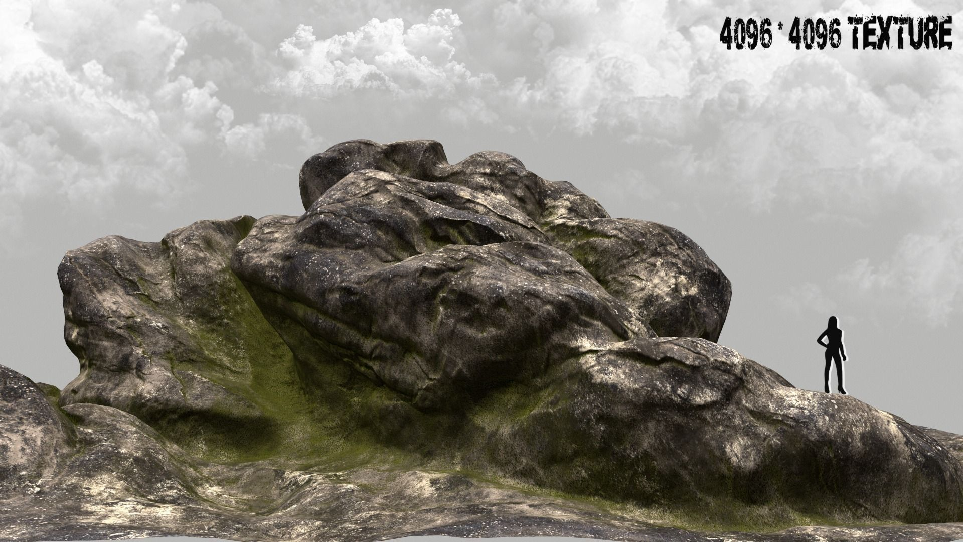 plant 3D model rock stone | CGTrader on Granite Models  id=46886