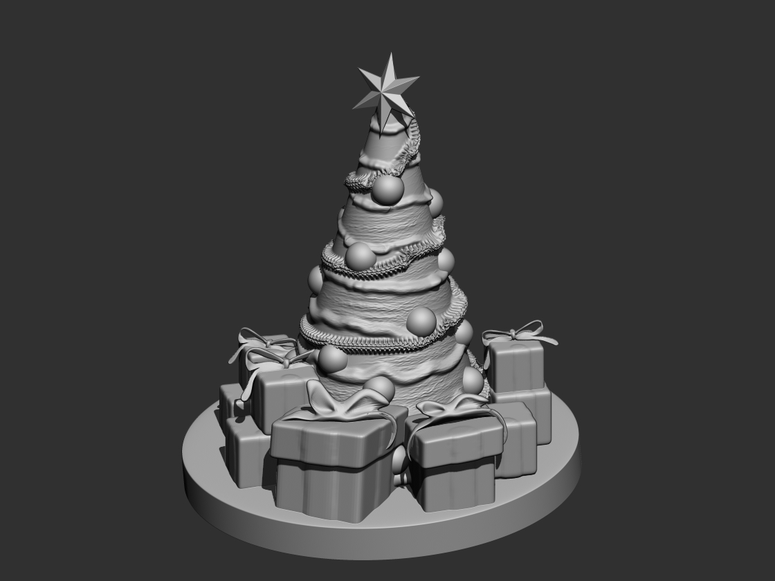 Christmas Tree 3d Model 3d Printable Stl