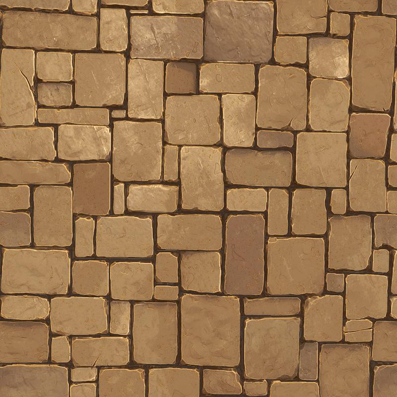 3D model Stone Floor Texture Pack VR / AR / low-poly OBJ ... on Granite Models  id=12746