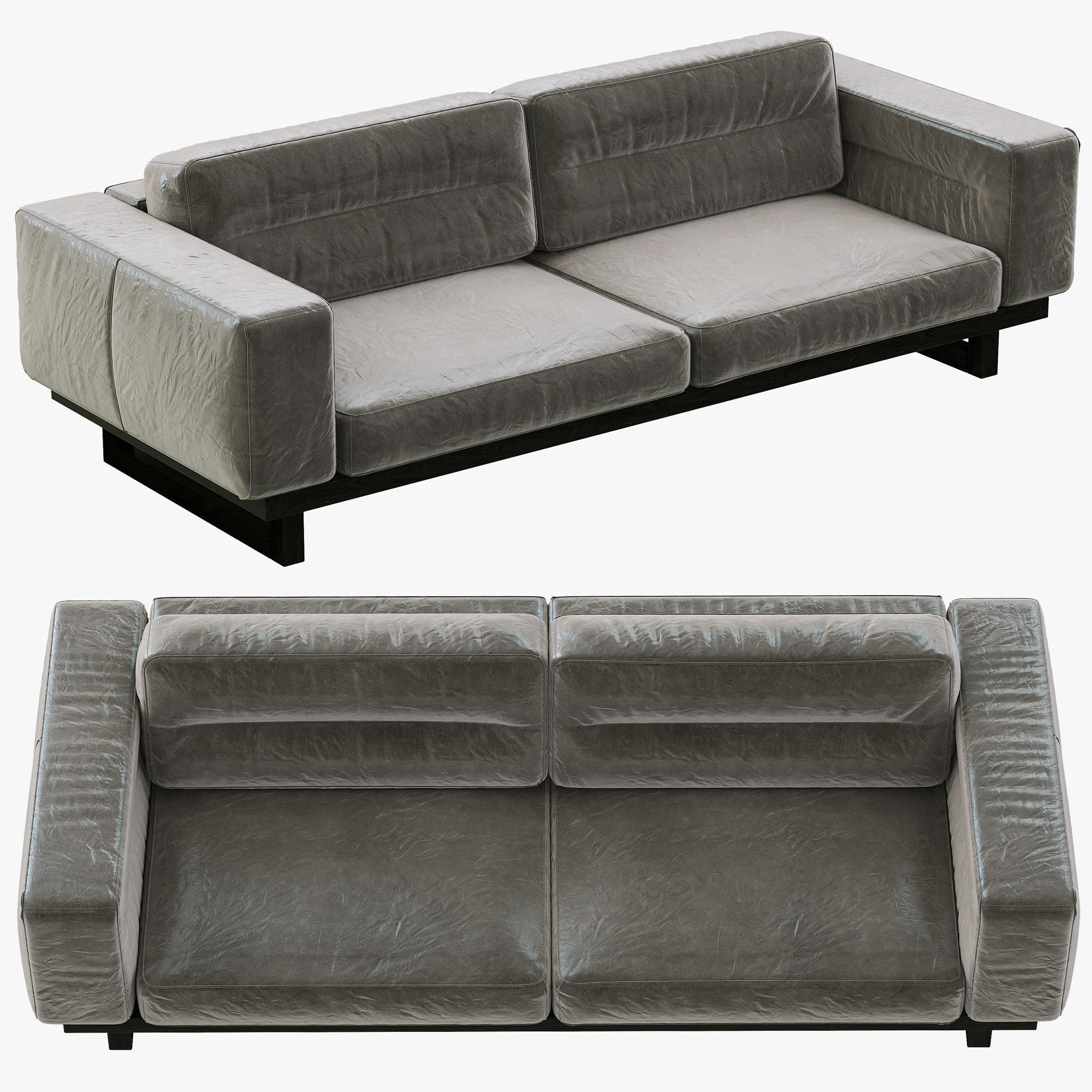 Restoration Hardware Savoy Leather Sofa Brokeasshome Com