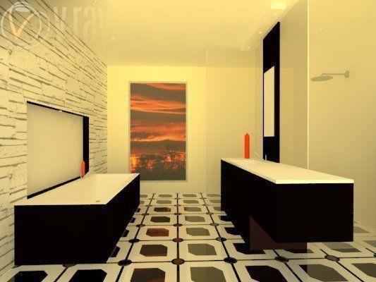 floor tile 3D model   CGTrader on Tile Models  id=85694