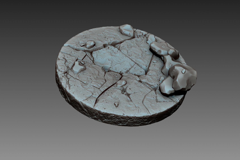 Zbrush Stone Pedestal 3D Model OBJ ZTL | CGTrader.com on Granite Models  id=88458