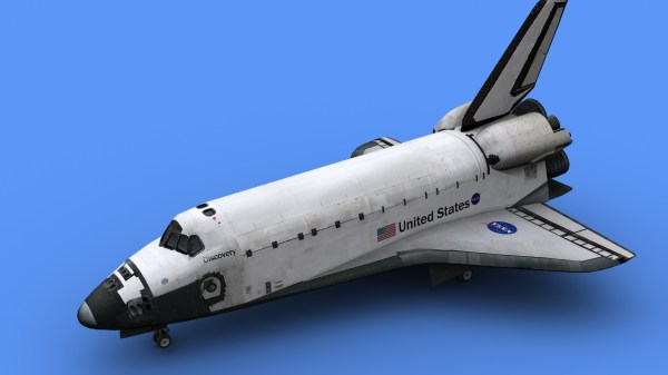Space Shuttle Discovery 3D Model MAX 3DS FBX C4D