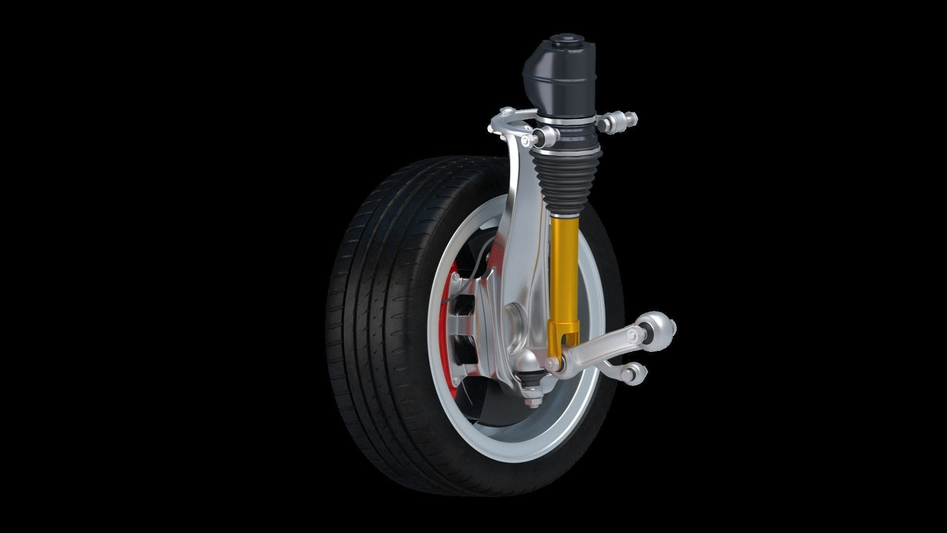 Car Wheel Lexus part 3D