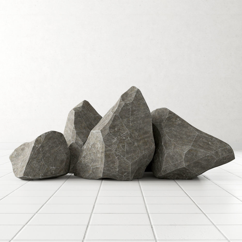 Rock stone collection n3 3D model | CGTrader on Granite Models  id=25722