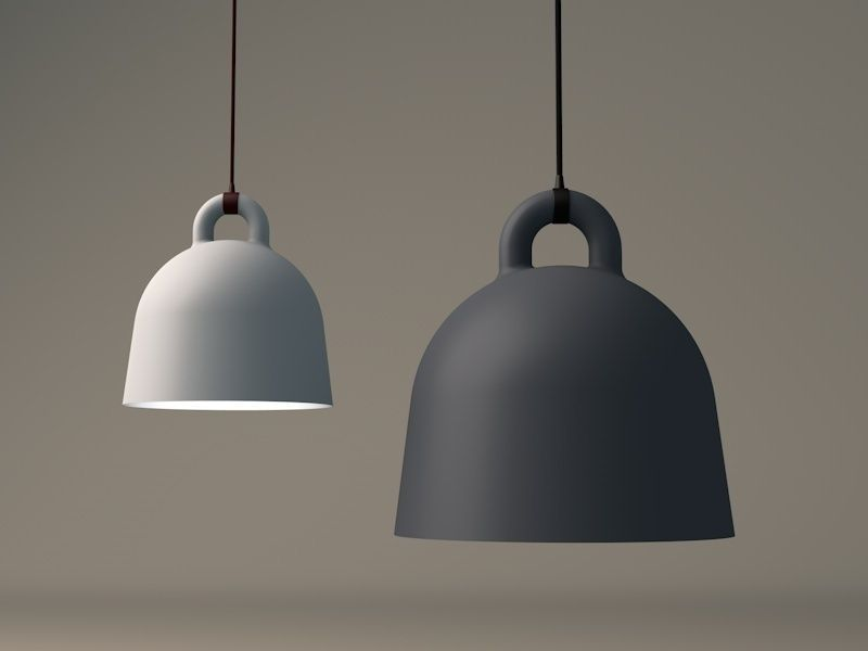 bell lamp by normann copenhagen 3d model
