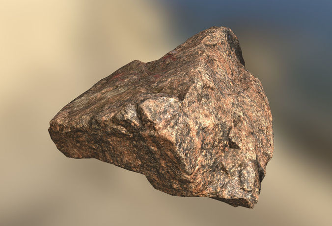 Granite stone 02 3D model realtime | CGTrader on Granite Models  id=25802