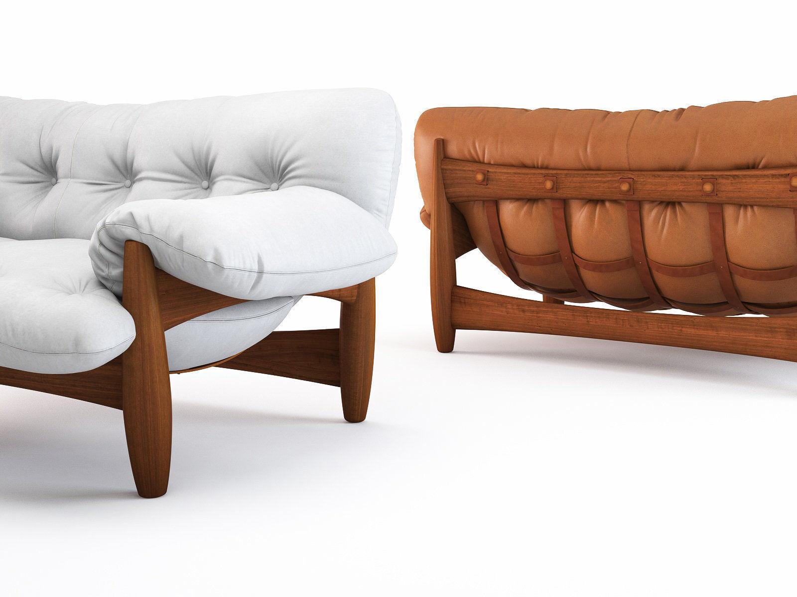 3d Mole Sofa 2 Seat