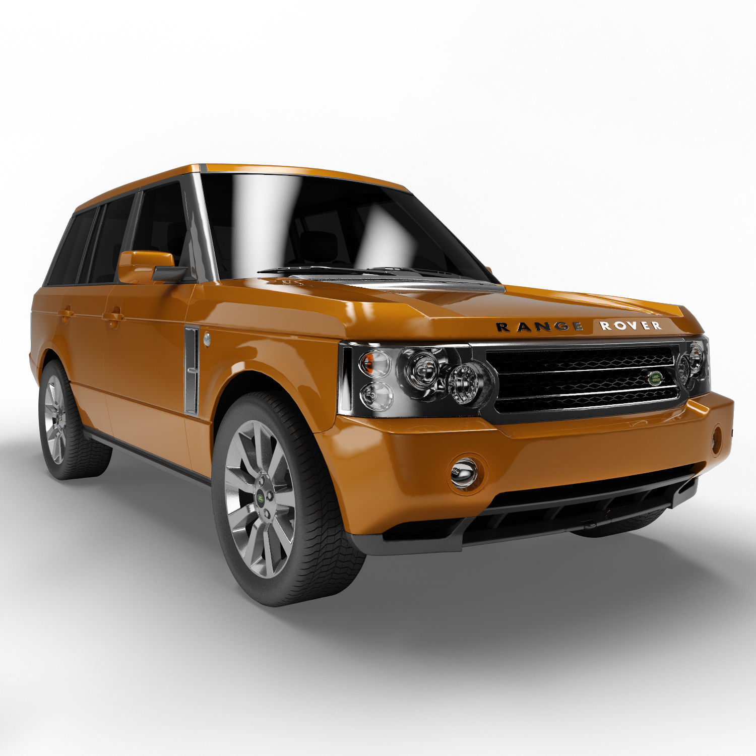 Land Rover Range Rover 6 Colors 3D model