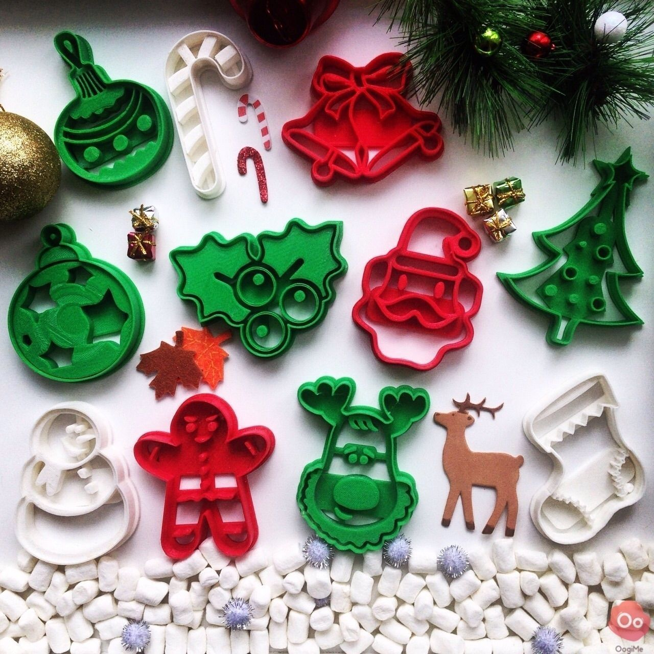 Christmas Tree Cookie Cutter Free 3d Model 3d Printable