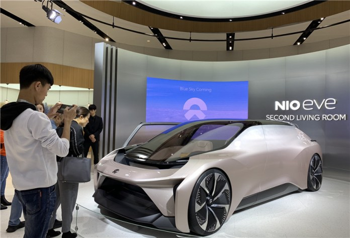 Chinese electric vehicle maker NIO to collaborate with Intel's Mobileye on autonomous vehicles - Xinhua English.news.cn