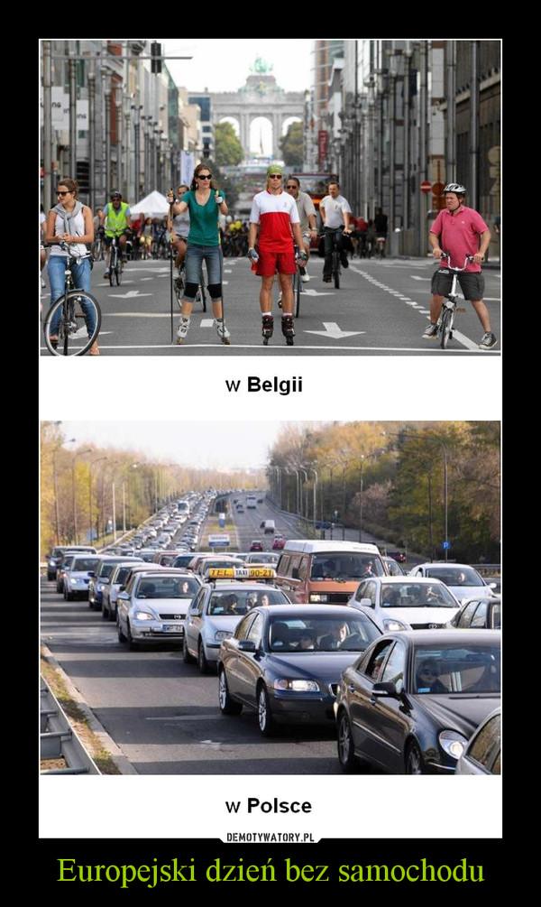 Europejski dzień bez samochodu –