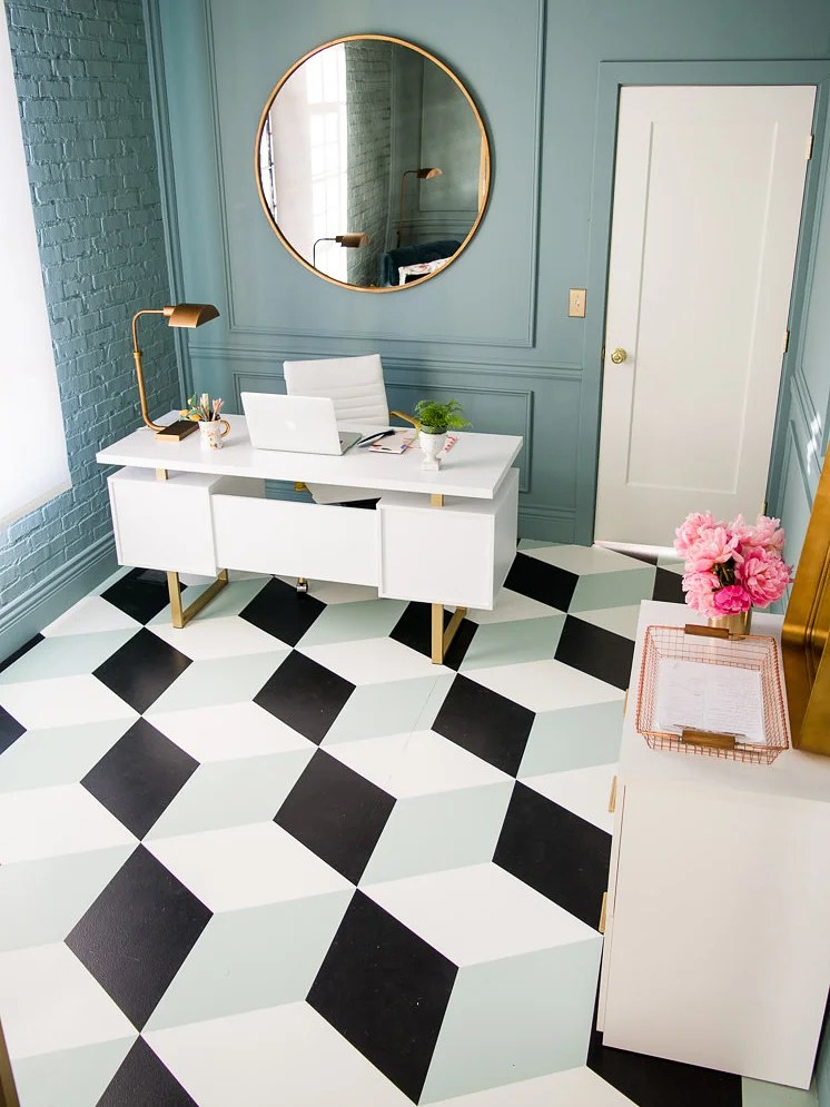 10 painted floors that are almost too