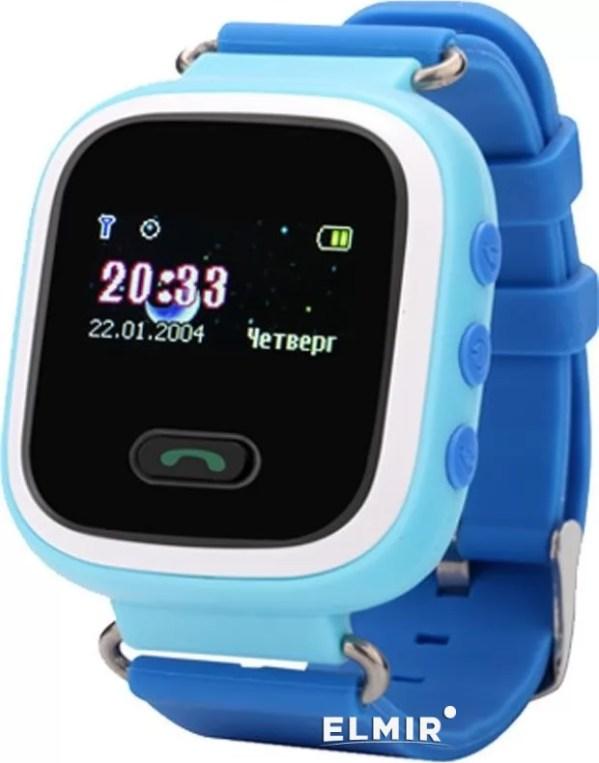 Смартчасы UWatch Q60 Blue купить ELMIR цена отзывы