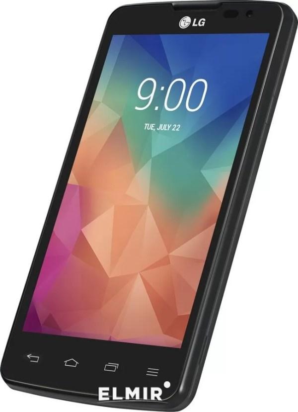 Мобильный телефон LG X135 Optimus L60 Dual Sim Black Titan ...