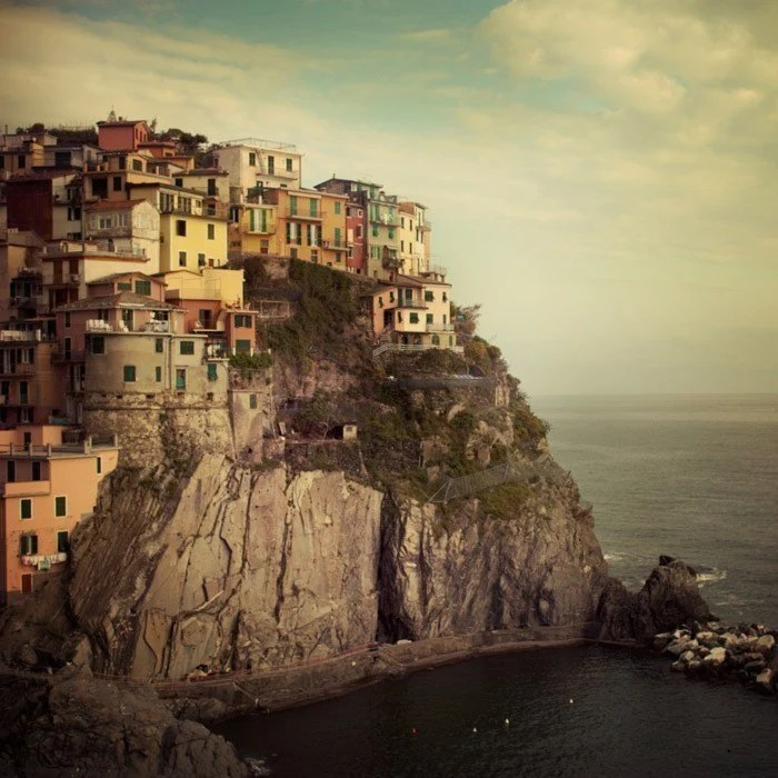 25 % OFF Italy Photography, Cinque Terre, Fine Art Print, Colorful Pastel Houses, Italy Art, Wall Decor, Travel - Postcard from the Edge