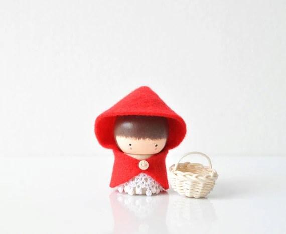 Little Red Riding Hood - Wooden Friend