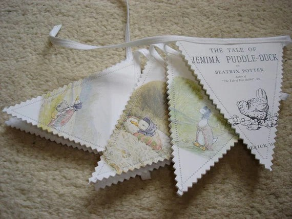 Jemima Puddleduck bunting  by The GIft Shed