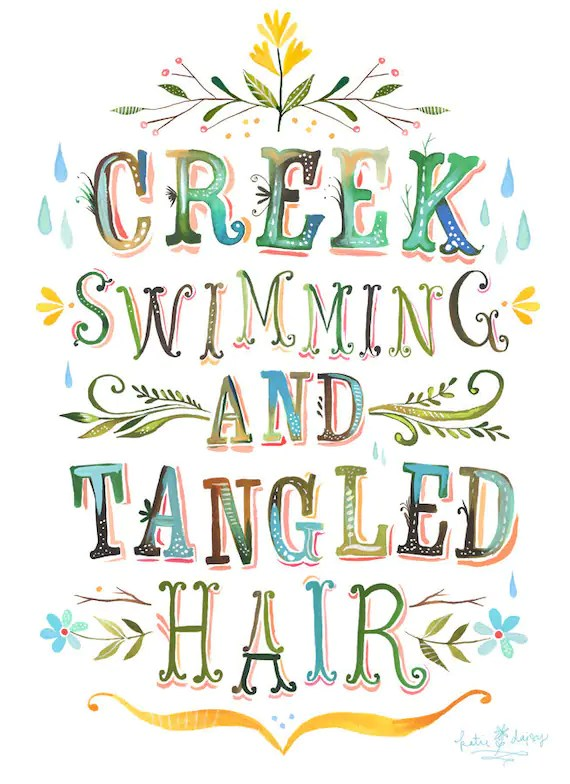 Creek Swimming