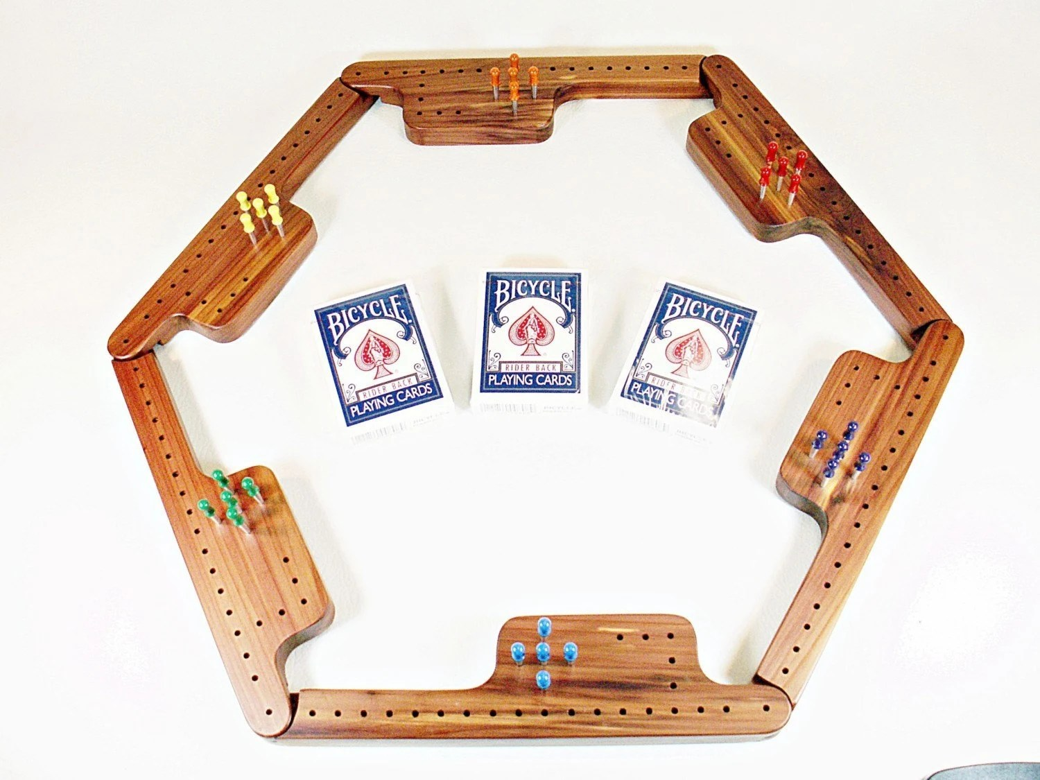 Pegs and Jokers Game Set - Tennessee Red Cedar