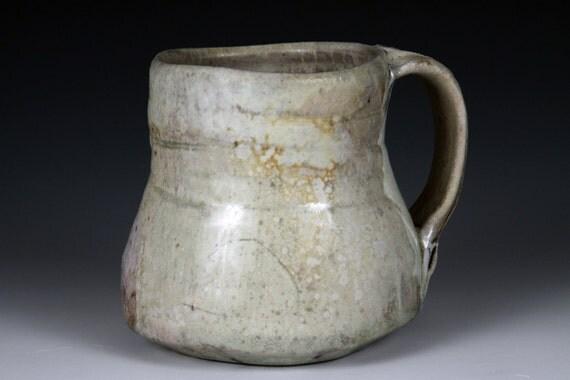 Wood Fired Porcelain Mug