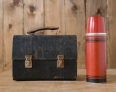 Vintage Metal Lunchbox with Thermos - woodensleepers