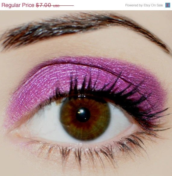 SUMMER SALE NEW Shade - Crushed Raspberries - Carina Dolci Mineral Eye Candy Shadow - CarinaDolci