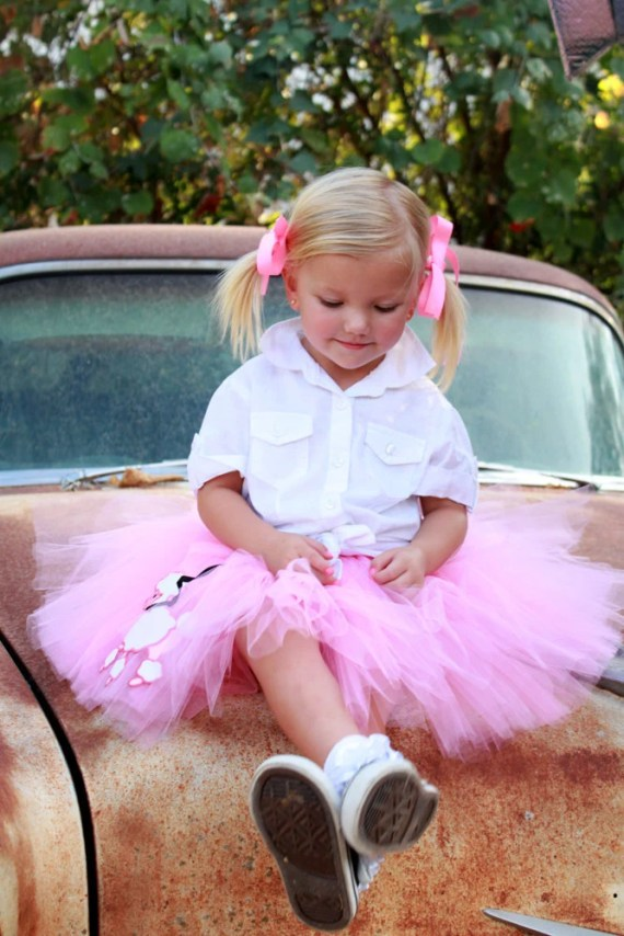 Pink Poodle Tutu by Atutudes - Created for the 2012 Golden Globe Awards Gifting Suite - atutudes