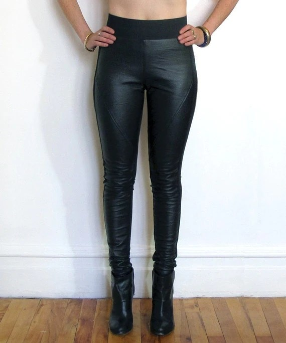 Genuine Leather Leggings