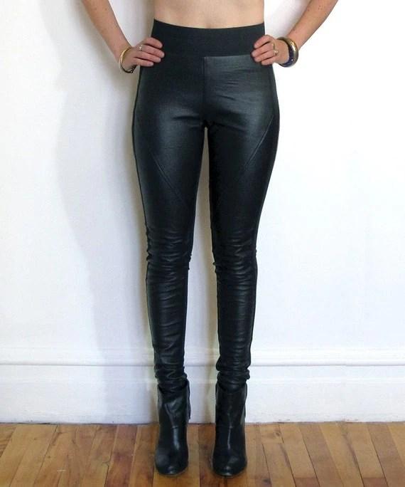Genuine Leather Leggings
