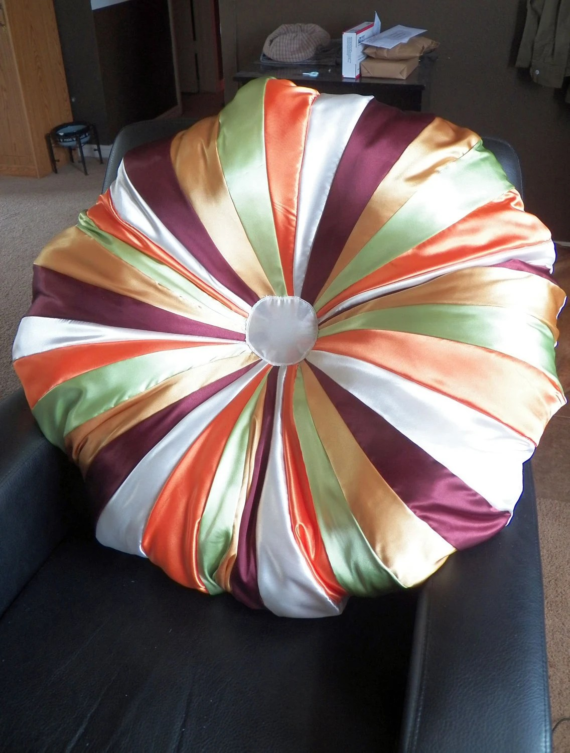 HUGE Floor Pillow, Reading Spot, Meditation Pillow - GratefulHempwork