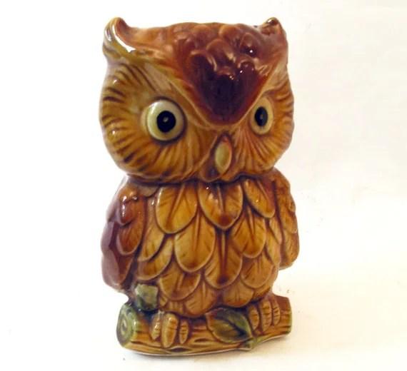 Vintage Inarco Japan Owl - blueariesvintage