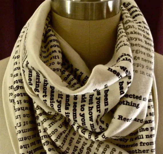 Wrap Up With A Good Book Scarf: Jane Eyre
