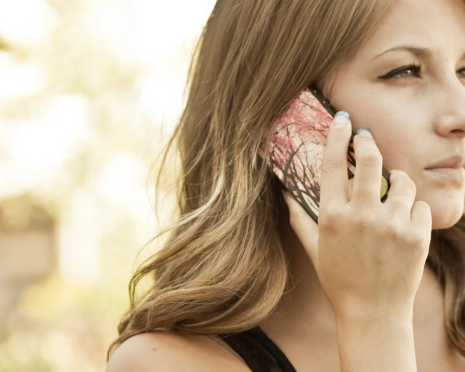 Pink iPhone 4 case, girly iPhone case - cherry blossom phone case - feminine iPhone case, Alice in Wonderland  (In STOCK) - Raceytay