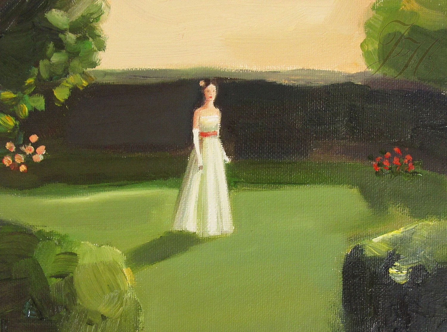 Emily Wandered Off- Open Edition Print