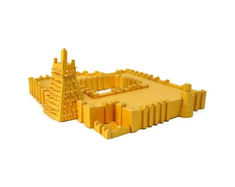 Timbuktu Paper Model (ASSEMBLED)