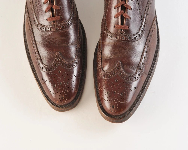 1950's Nettleton Men's Brown Wingtip Shoes - missfarfalla