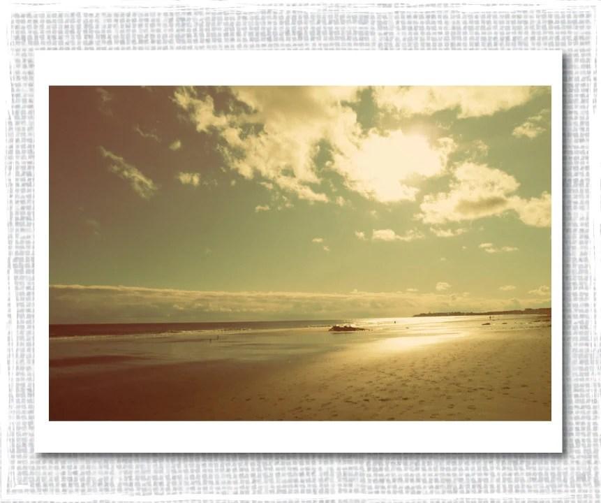 Beach Photograph, Beach Heaven Photograph, Retro Beach Photo, Fine Art Photography, Wall Art 8 x10 - BatesMercantileCo