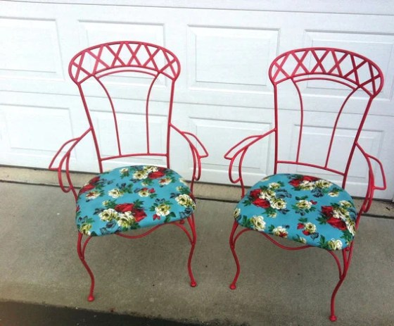Red French Bistro Chairs- PlainLane