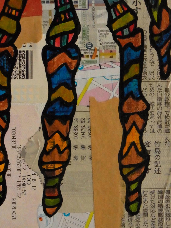 Bones: Right Hand. Original Painting