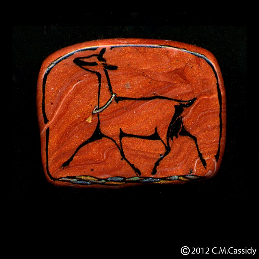 Oberhasli Goat Trotting Pin. Dairy Goat Jewelry
