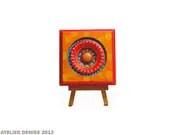 Tangerine Repurposed  Corner  Molding - AtelierDenise
