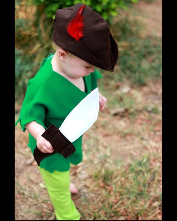 Boys Peter Pan Costume 6M-5T - AvaBellesCloset