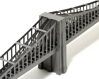 Brooklyn Bridge Paper Model (KIT)