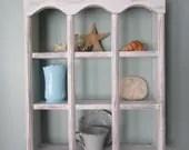 Distressed Shabby Chic Shelf Cottage Decor - BallyClareCottage