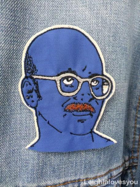 Tobias Fuke patch brooch by Leighlalovesyou
