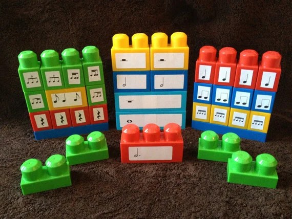 BEAT BLOCKS - Rhythm building blocks that promote musical literacy